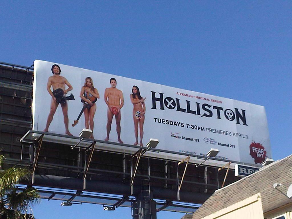 Hollistion Billboard Sunset Blvd