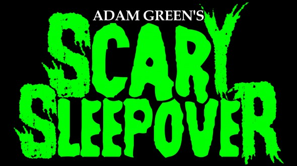 Scary Sleepover logo full