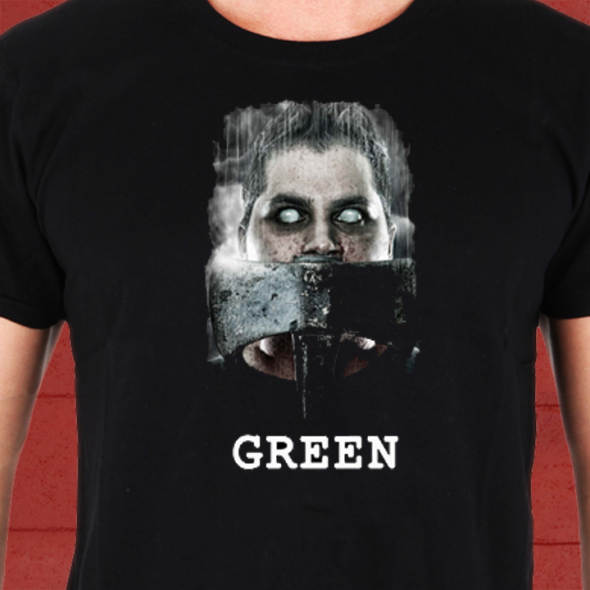 GREEN T Front T shirt