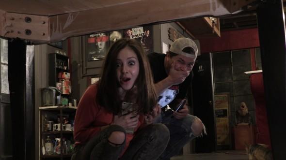 Laura and Adam Screaming 2